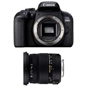Canon EOS 800D + Sigma 17-50 mm f/2,8 DC OS EX HSM