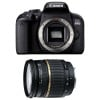 Canon EOS 800D + Tamron SP AF 17-50 f/2.8 XR Di II LD | Garantie 2 ans