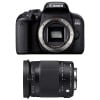 Canon EOS 800D + Sigma 18-300 mm f/3,5-6,3 DC OS HSM Contemporary Macro | 2 Years Warranty