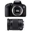 Canon EOS 800D + Sigma 18-300 mm f/3,5-6,3 DC OS HSM Contemporary Macro | Garantie 2 ans