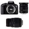 Canon EOS 800D + Sigma 17-50 F2.8 DC OS EX HSM + Sigma 70-300 f/4-5,6 APO DG MACRO | 2 Years Warranty