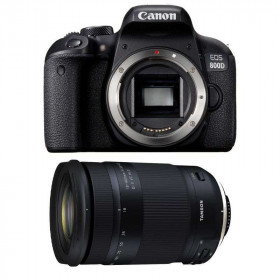 Canon EOS 800D + Tamron 18-400mm f/3.5-6.3 Di II VC HLD   2 Years Warranty