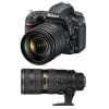 Nikon D750 + AF-S 24-120 mm f/4 G ED VR + AF-S 70-200 mm f/2.8 G IF ED VR II | Garantie 2 ans