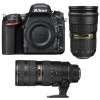 Nikon D750 + AF-S 24-70 mm f/2.8 G ED + AF-S 70-200 mm f/2.8 G IF ED VR II | Garantie 2 ans