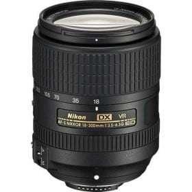 Nikon AF-S 18-300mm F3.5-6.3 G IF-ED DX VR | 2 Years Warranty
