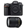Nikon D500 + AF-S DX 18-105 mm f/3.5-5.6G ED VR   2 años de garantía
