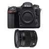 Nikon D500 + Sigma 17-70 mm f/2,8-4 DC Macro OS HSM Contemporary | 2 años de garantía