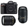 Nikon D500 + AF-S DX 18-105 mm f/3.5-5.6G ED VR + AF-S DX 55-300 mm f/4.5-5.6 G ED VR | 2 Years Warranty