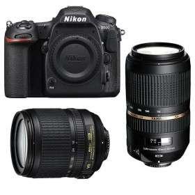 Nikon D500 + AF-S DX 18-105 mm f/3.5-5.6G ED VR + Tamron SP AF 70-300 mm f/4-5.6 Di VC USD