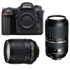 Nikon D500 + AF-S DX 18-105 mm f/3.5-5.6G ED VR + Tamron SP AF 70-300 mm f/4-5.6 Di VC USD | 2 Years Warranty