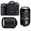 Nikon D500 + AF-S DX 18-105 mm f/3.5-5.6G ED VR + Tamron SP AF 70-300 mm f/4-5.6 Di VC USD | Garantie 2 ans