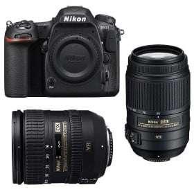 Nikon D500 + AF-S DX 16-85 mm f/3.5-5.6G ED VR + AF-S DX 55-300 mm f/4.5-5.6 G ED VR