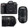 Nikon D500 + AF-S DX 16-85 mm f/3.5-5.6G ED VR + AF-S DX 55-300 mm f/4.5-5.6 G ED VR | Garantie 2 ans