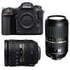 Nikon D500 + AF-S DX 16-85 mm f/3.5-5.6G ED VR + Tamron SP AF 70-300 mm f/4-5.6 Di VC USD | Garantie 2 ans