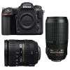 Nikon D500 + AF-S DX 16-85 mm f/3.5-5.6G ED VR + AF-S 70-300 mm f/4.5-5.6 G IF-ED VR | Garantie 2 ans