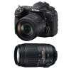 Nikon D500 + AF-S DX NIKKOR 16-80 mm f/2.8-4E ED VR + AF-S DX 55-300 mm f/4.5-5.6 G ED VR | Garantie 2 ans