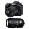 Nikon D500 + AF-S DX NIKKOR 16-80 mm f/2.8-4E ED VR + Tamron SP AF 70-300 mm f/4-5.6 Di VC USD