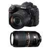 Nikon D500 + AF-S DX NIKKOR 16-80 mm f/2.8-4E ED VR + Tamron SP AF 70-300 mm f/4-5.6 Di VC USD | Garantie 2 ans