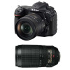 Nikon D500 + AF-S DX NIKKOR 16-80 mm f/2.8-4E ED VR + AF-S 70-300 mm f/4.5-5.6 G IF-ED VR | 2 Years Warranty