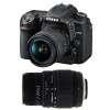Nikon D7500 + AF-P DX NIKKOR 18-55 mm f/3.5-5.6G VR + Sigma 70-300 mm f/4-5,6 DG Macro | 2 Years Warranty
