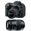 Nikon D7500 + AF-P DX NIKKOR 18-55 mm f/3.5-5.6G VR + Tamron AF 70-300 mm f/4-5,6 Di LD Macro 1/2 | 2 años de garantía