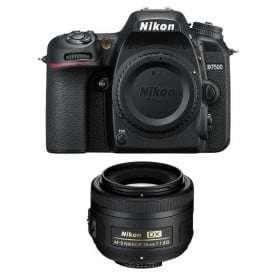 Nikon D7500 + AF-S DX 35 mm f/1.8 G | 2 Years Warranty