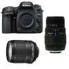 Nikon D7500 + AF-S DX 18-105 mm f/3.5-5.6G ED VR + Sigma 70-300 mm f/4-5,6 DG Macro | Garantie 2 ans