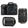 Nikon D7500 + AF-S DX 18-105 mm f/3.5-5.6G ED VR + Tamron AF 70-300 mm f/4-5,6 Di LD Macro 1/2