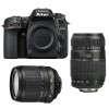 Nikon D7500 + AF-S DX 18-105 mm f/3.5-5.6G ED VR + Tamron AF 70-300 mm f/4-5,6 Di LD Macro 1/2 | Garantie 2 ans