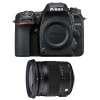 Nikon D7500 + Sigma 17-70 mm f/2,8-4 DC Macro OS HSM Contemporary | 2 Years Warranty