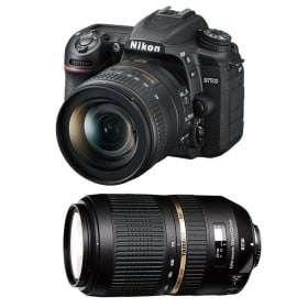 Nikon D7500 + AF-P DX NIKKOR 18-55 mm f/3.5-5.6G VR + Tamron SP AF 70-300 mm f/4-5.6 Di VC USD