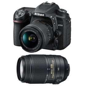 Nikon D7500 + AF-P DX NIKKOR 18-55 mm f/3.5-5.6G VR + AF-P DX 70-300 f/4,5-6,3 G ED VR