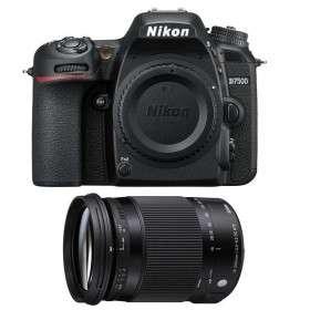 Nikon D7500 + Sigma 18-300 mm f/3,5-6,3 DC OS HSM Contemporary