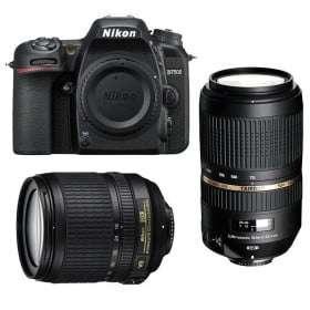 Nikon D7500 + AF-S DX 18-105 mm f/3.5-5.6G ED VR + Tamron SP AF 70-300 mm f/4-5.6 Di VC USD