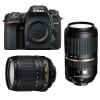 Nikon D7500 + AF-S DX 18-105 mm f/3.5-5.6G ED VR + Tamron SP AF 70-300 mm f/4-5.6 Di VC USD | 2 Years Warranty