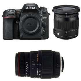 Nikon D7500 + Sigma 17-70 mm f/2,8-4 DC Macro OS HSM Contemporary + Sigma 70-300 mm f/4-5,6 DG APO Macro