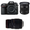 Nikon D7500 + Sigma 17-70 mm f/2,8-4 DC Macro OS HSM Contemporary + Sigma 70-300 mm f/4-5,6 DG APO Macro | Garantie 2 ans