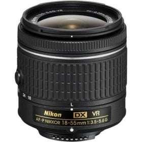 Nikon AF-P DX NIKKOR 18-55 mm f/3.5-5.6G VR | 2 Years Warranty
