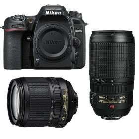 Nikon D7500 + AF-S DX 18-105 mm f/3.5-5.6G ED VR + AF-S 70-300 mm f/4.5-5.6 G IF-ED VR