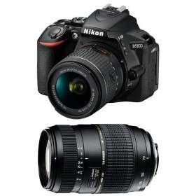 Nikon D5600 + AF-P DX NIKKOR 18-55 mm f/3.5-5.6G VR + Tamron AF 70-300 mm f/4-5,6 Di LD Macro 1/2   2 Years Warranty