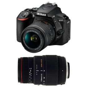 Nikon D5600 + AF-P DX NIKKOR 18-55 mm f/3.5-5.6G VR + Sigma 70-300 mm f/4-5,6 DG APO Macro