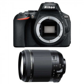 Nikon D5600 + Tamron 18-200 mm F/3.5-6.3 Di II VC   2 Years Warranty