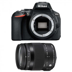 Nikon D5600 + Sigma 18-200 mm f/3,5-6,3 DC OS HSM MACRO Contemporary   2 Years Warranty