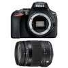 Nikon D5600 + Sigma 18-200 mm f/3,5-6,3 DC OS HSM MACRO Contemporary | Garantie 2 ans