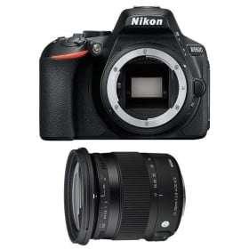 Nikon D5600 + Sigma 17-70 mm f/2,8-4 DC Macro OS HSM Contemporary   2 Years Warranty