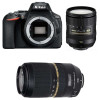 Nikon D5600 + AF-S DX 16-85 mm f/3.5-5.6G ED VR + Tamron SP AF 70-300 mm f/4-5.6 Di VC USD | 2 Years Warranty