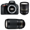 Nikon D5600 + AF-S DX 16-85 mm f/3.5-5.6G ED VR + AF-S 70-300 mm f/4.5-5.6 G IF-ED VR | Garantie 2 ans