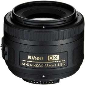 Nikon Nikkor AF-S 35mm f/1.8 G DX
