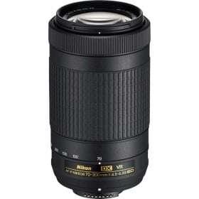 NIKON AF-P DX 70-300 f/4.5-6.3 G ED VR