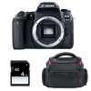 Canon EOS 77D Nu + Sac + SD 4Go | Garantie 2 ans
